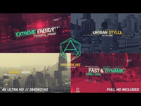 Modern Dynamic Glitch Intro | After Effects Template | Project Files - Videohive