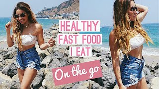 LOSE FAT WHILE ON THE GO | Fast Food, Coffee, Alcohol Options!