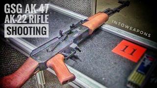 GSG AK-47 .22LR Rifle (AK-22):  Shooting At The Range
