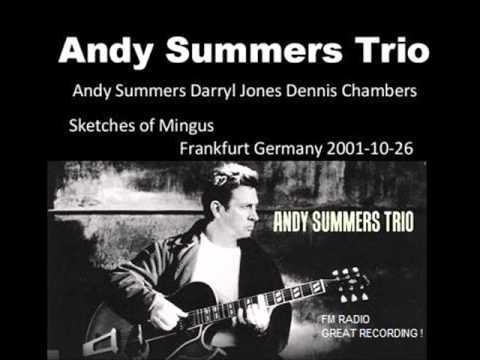 """ANDY SUMMERS TRIO - Frankfurt 26-10-2001 """"Hr Sendesaal"""" Germany (FM RADIO)"""