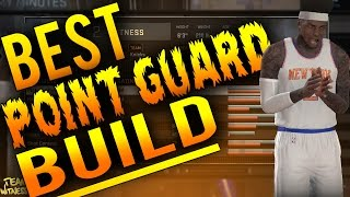 NBA 2K16 Tips: Best POINT GUARD Build - How To Create a DOMINANT 99 OVERALL PG in 2K16!