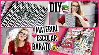 DIY: Customize seu Material Escolar SEM GASTAR MUITO  | Volta ás aulas