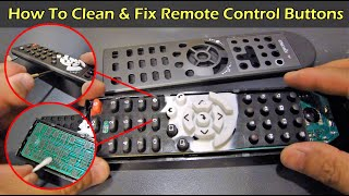 How to Fix & Clean Your Remote Control Buttons