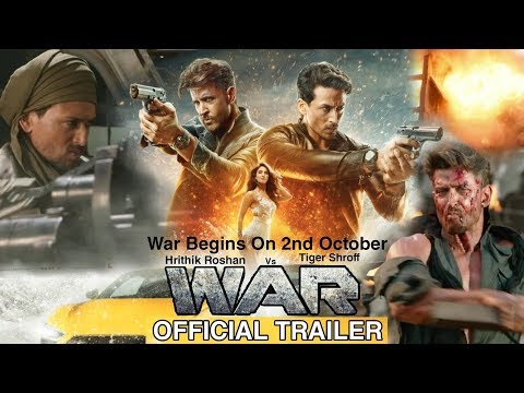 War Official Trailer | War Movie Trailer | Hrithik Roshan, Tiger Shroff, Vaani Kapoor