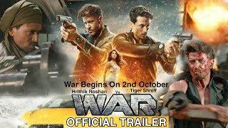 War Official Trailer | War Movie Trailer | Hrithik Roshan, Tiger Shroff, Vaani Kapoor