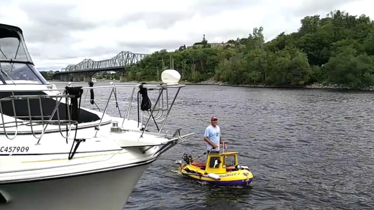 World Smallest Motorboat