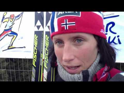 Tour de Ski 2012 - Marit Bjoergen interview