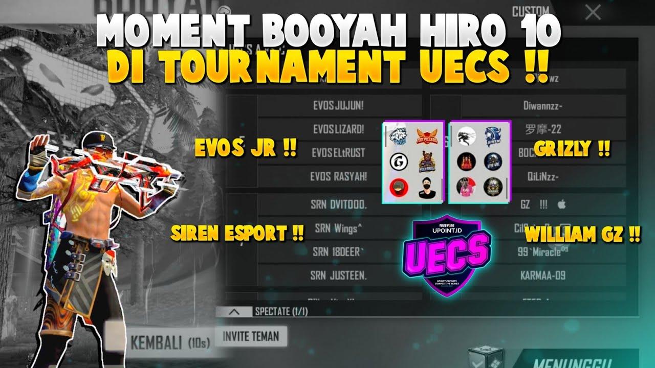MISI MENDAPATKAN BOOYAH DI TOURNAMENT UECS DAY 2 !!
