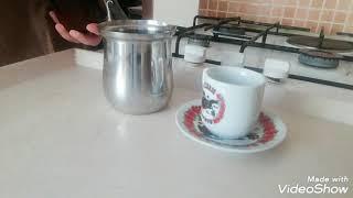☕Türk kahvesi  nasıl yapılır 👌👍#bol köpüklü# ve püf noktası ile nefis Tarif