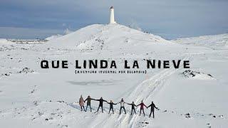 QUE LINDA LA NIEVE (Aventura invernal por Islandia)