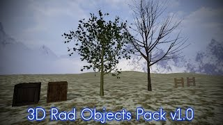 3D Rad Objects Pack | Free Objects for your games!