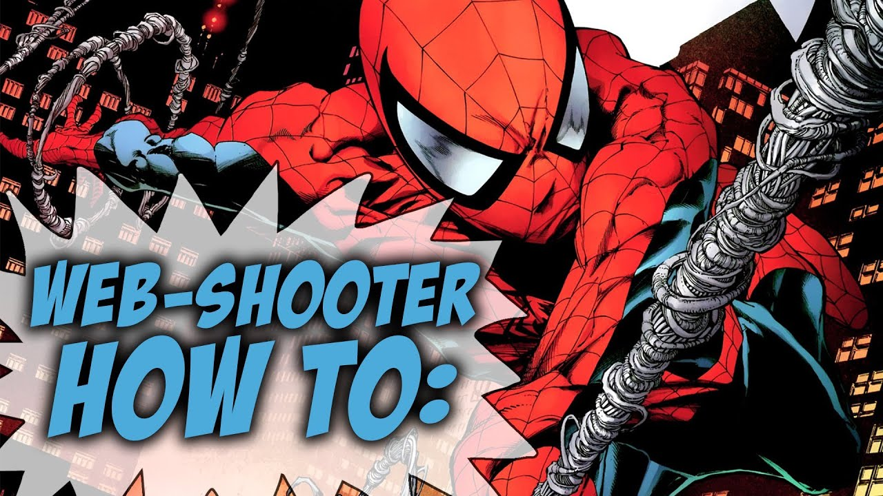 How To Build Your Own Spider Man Web Shooters Youtube