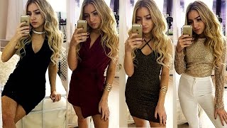 4 Last Minute AFFORDABLE Christmas/New Years Eve Party Outfits 2016