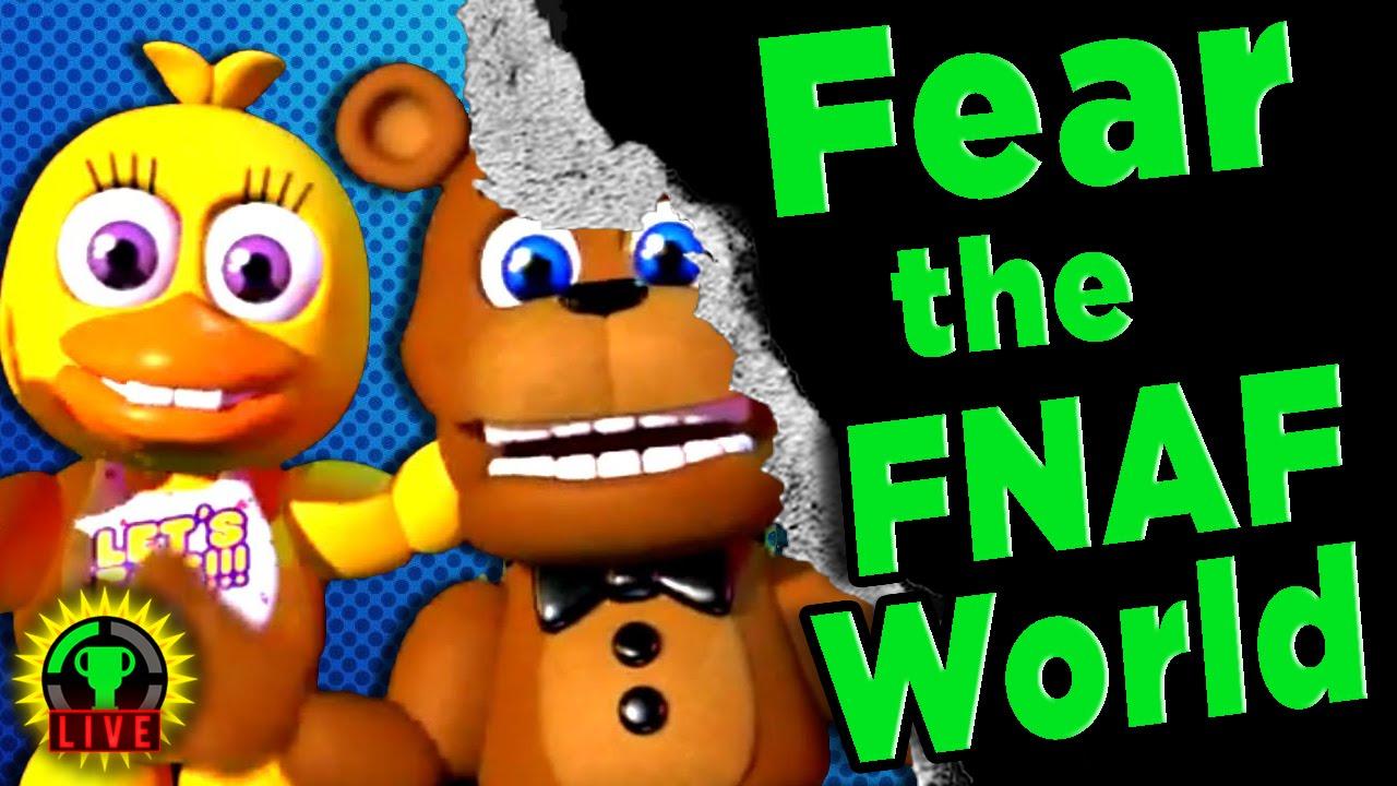 GTLive: FNAF WORLD Hidden Horrors! - GTLive: FNAF WORLD Hidden Horrors!
