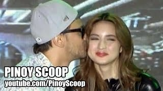 Billy Crawford Kissed Coleen Garcia On It