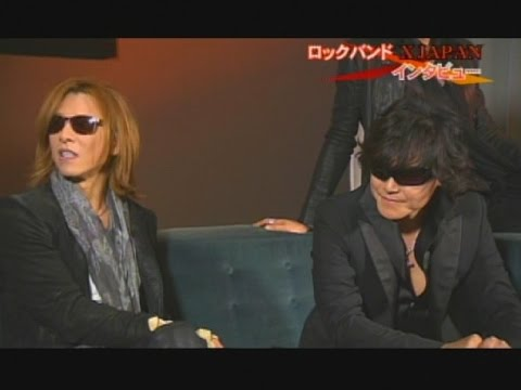 Interview with X JAPAN in NY! X JAPAN単独インタビュー