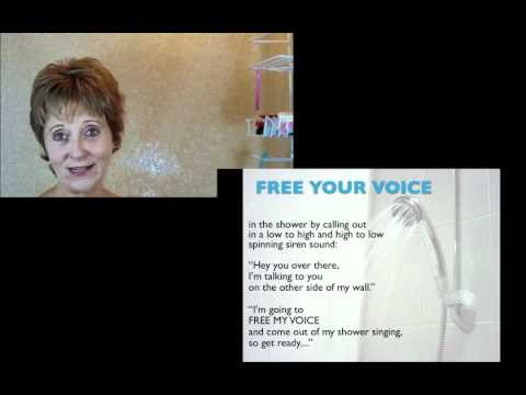 Affordable Singing Lessons Quick Tip 1  singing in the shower