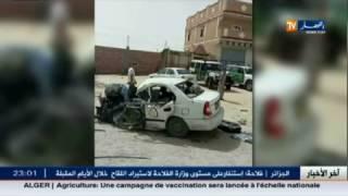 الوادي: حادث مرور بين سيارة وشاحنة مقطورة يخلف قتيلا