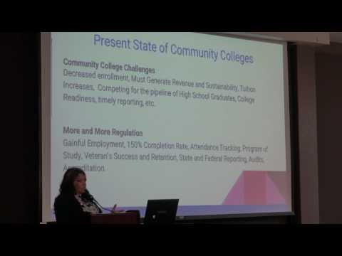 Dean of Enrollment Services Candidate Yolanda Espinoza