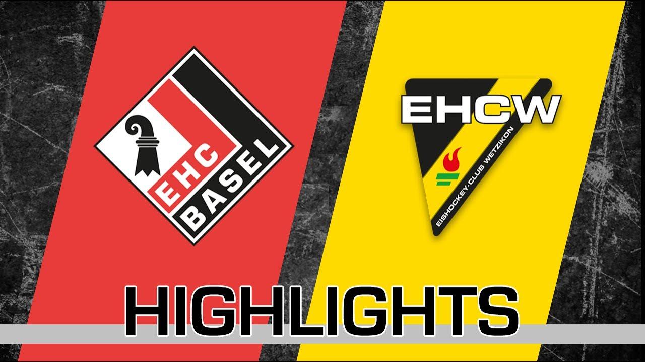 Highlights Ehc Basel Vs Ehc Wetzikon Youtube