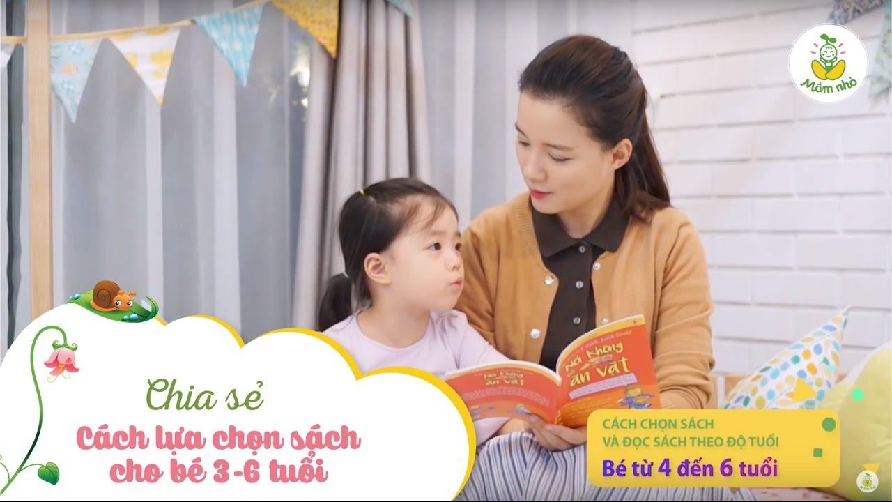 Cách lựa chọn sách cho bé 3-6 tuổi