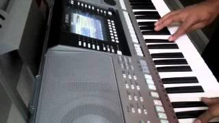Tera Saath Hai Kitna Pyara on Yamaha Keyboard PSR-S910