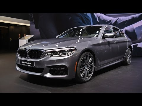 2017 BMW 5 Series First Look: 2017 Detroit Auto Show