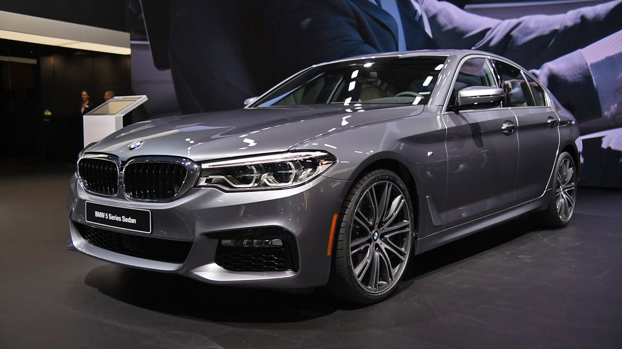 2017 BMW 5 Series First Look Detroit Auto Show