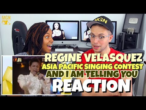 Regine Velasquez - Asia Pacific Singing Contest (1989) | And I'm Telling You | PATREON REACTION