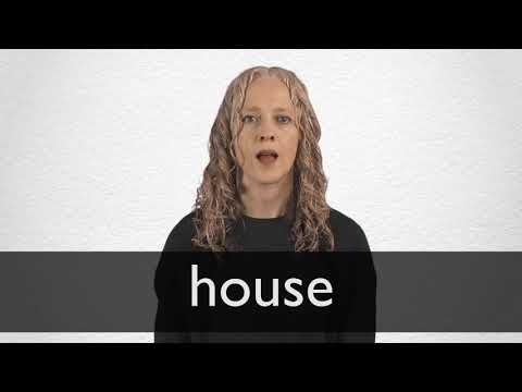 House definition and meaning | Collins English Dictionary