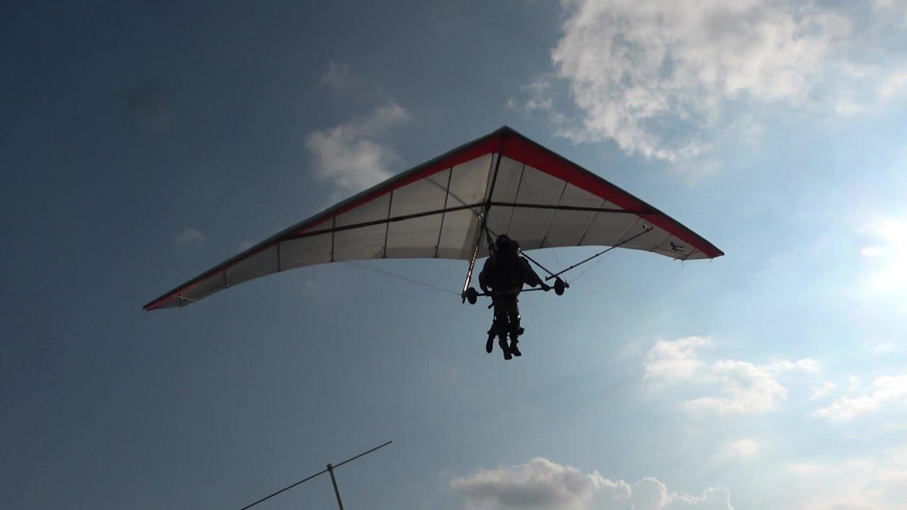 ハンググライダーで飛ぶ ニッカ宝割り