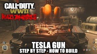 نداء الواجب WW2 الكسالى - تسلا بندقية (كيفية بناء) - البرق معالج تحقيق/الكأس