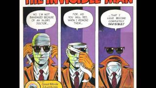 The Invisible Man - Bell / Wonderland records Wally Wood part 2