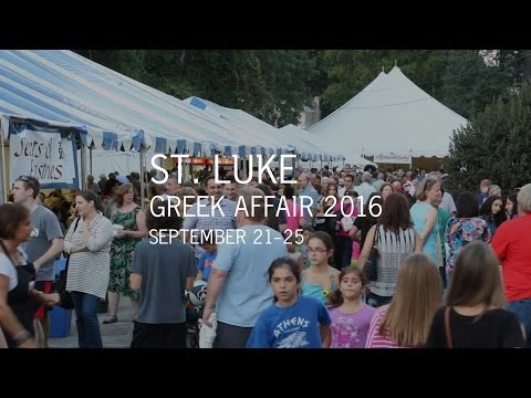 St. Luke Greek Affair 2016