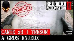 Carte Au Tresor Otis Miller.Nouveau Trouve Le Tresor Du Revolver De Red Dead 2