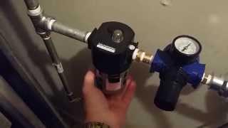 sanborn blackmax 80 gallon 2 stage air compressor setup