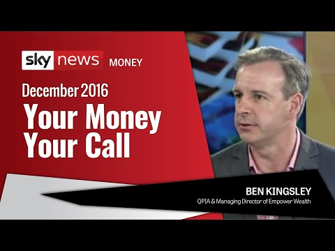 Ben Kingsley on Sky Business News – Your Money Your Call (December 2015)