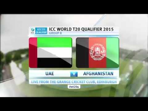 Afghanistan vc UAE  carkiet 14/12/2016
