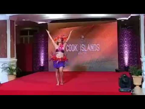 MISS EARTH COOK ISLANDS 2017 TALENT (SILVER MEDALIST)