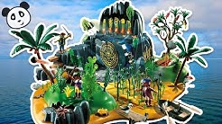 PLAYMOBIL deutsch Piraten Abenteuerschatzinsel - Pandido TV