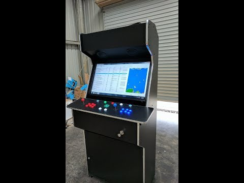 Build an arcade cabinet step by step