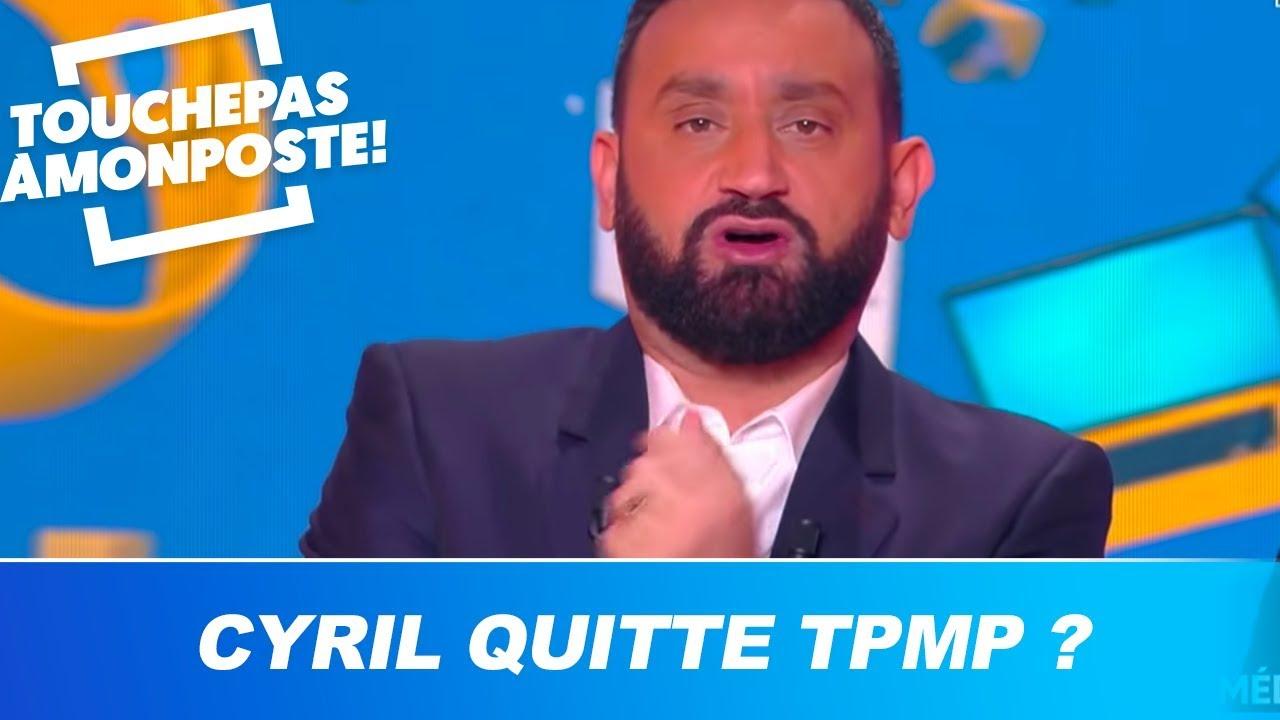 Cyril Hanouna quitte TPMP ? Il répond et fait une grande annonce choc !