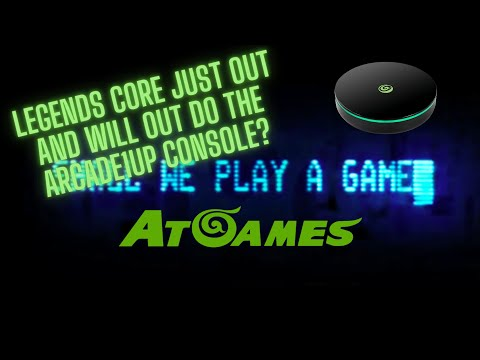 Legends Core Out: Will it out do the Arcade1up console? 50 Bucks from Ur Average Gamer