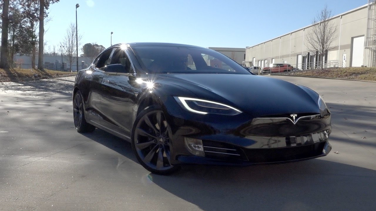 Tesla Model S 75d >> 136107 2017 Tesla Model S 75d Youtube