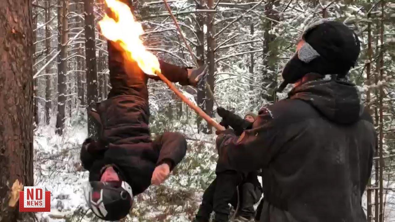 """""""Дятловцев"""" пытали? Эксперимент с поджогом и колотушкой"""