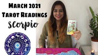 वृश्चिक राशि Vrishchik Rashi |SCORPIO| Rashifal Predictions for MARCH 2021 | Rinky Punjabi