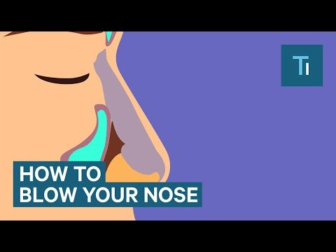 You've Been Blowing Your Nose All Wrong