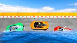 IMPOSSIBLE WATER WALLRIDE! (GTA 5 Race)
