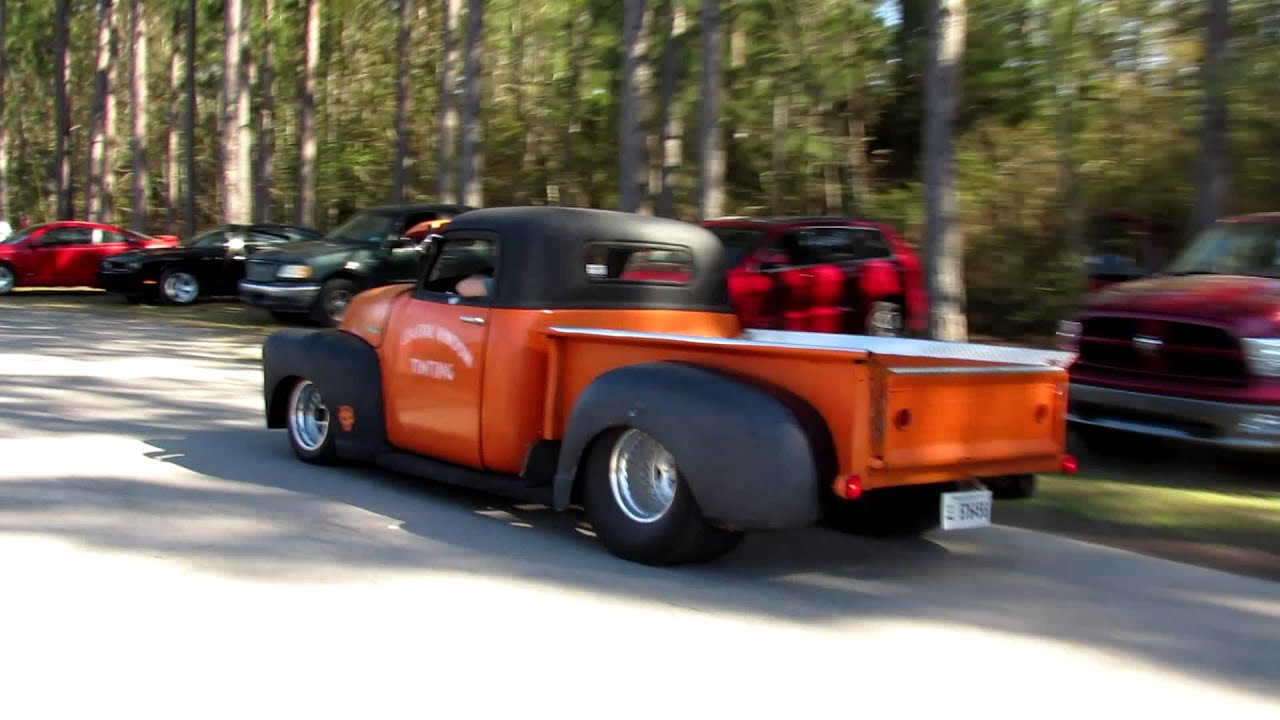 Classic Chevy Truck Hot Rod - YouTube