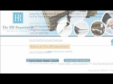 Step by step guide for the online staff handbook and contract.mp4